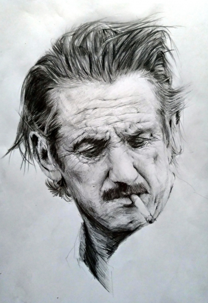 Sean Penn by linshyhchyang